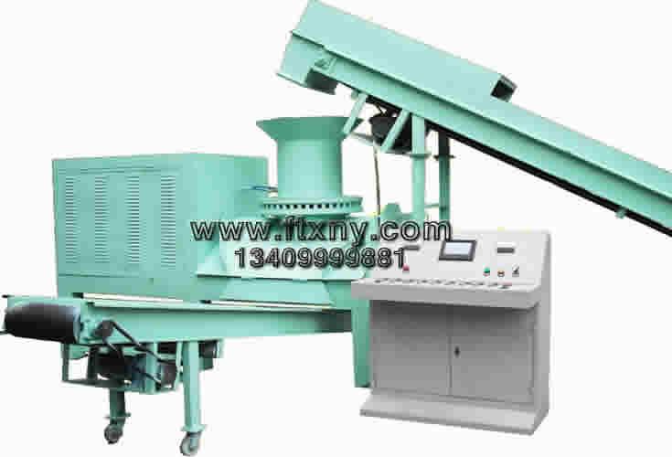 600型秸秆压块机