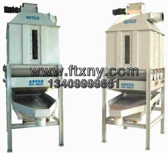 75四,主要结构和工作原理  逆流式冷却器主要由