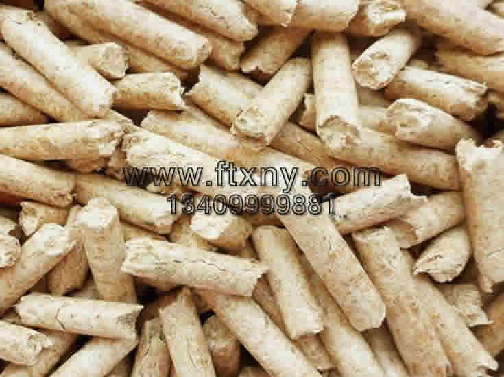 木屑颗粒机压制的杂木生物质颗粒燃料