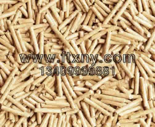 橡木生物质颗粒燃料