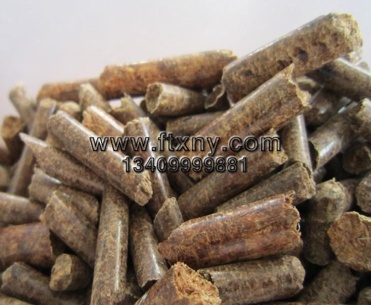 稻壳颗粒机压制的稻壳颗粒燃料