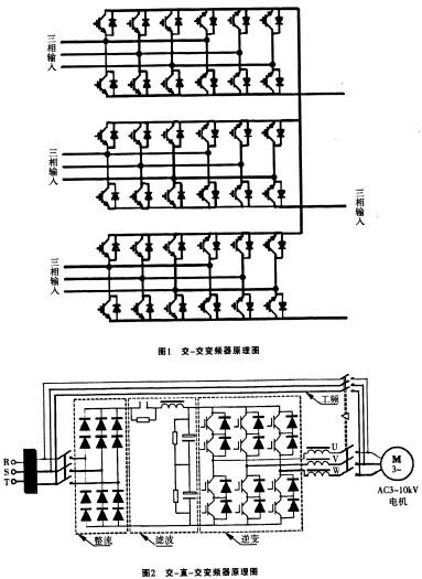 三相异步电机配电柜线路接线图