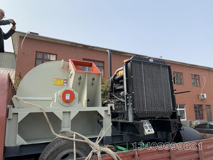 柴油机款木屑机