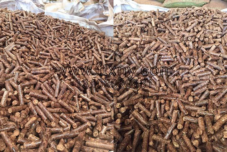 农林废弃物压制的生物质颗粒燃料